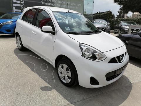 Nissan March Sense usado (2019) color Blanco precio $174,000