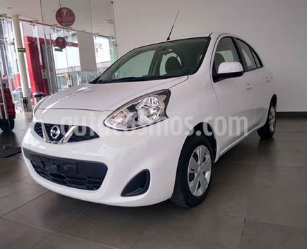 Nissan March Sense Aut usado (2018) color Blanco precio $149,000