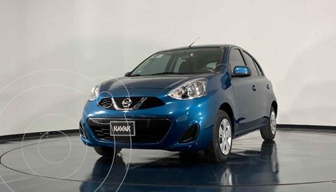 Nissan March Sense usado (2018) color Azul precio $160,999