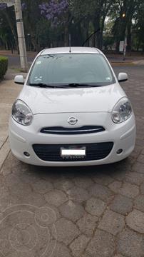 Nissan March Advance Aut usado (2013) color Blanco precio $110,000
