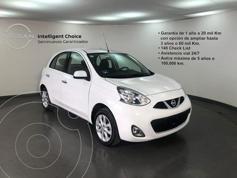 Nissan March Advance usado (2020) color Blanco precio $225,000