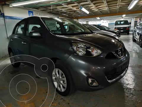 Nissan March Advance usado (2020) color Gris Oscuro precio $205,000