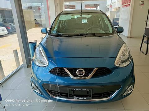 foto Nissan March Advance usado (2018) color Celeste precio $170,000