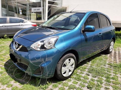 Nissan March Sense usado (2018) color Azul precio $153,500