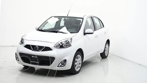 Nissan March Advance usado (2019) color Blanco precio $194,000