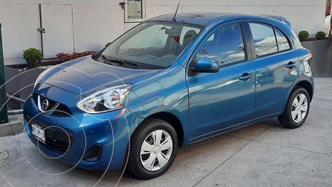 Nissan March Sense usado (2017) color Azul precio $125,000