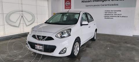 Nissan March Advance usado (2016) color Blanco precio $165,000