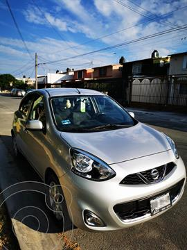 Nissan March Advance Aut usado (2017) color Plata precio $148,000