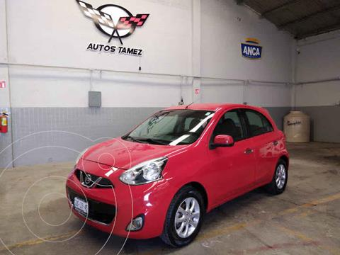 Nissan March Advance usado (2017) color Rojo precio $130,900