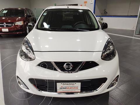 Nissan March SR NAVI usado (2018) color Blanco precio $174,000