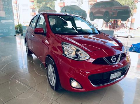 Nissan March Advance usado (2020) color Rojo precio $225,000