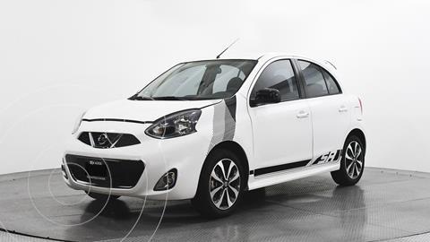 Nissan March SR NAVI usado (2018) color Blanco precio $194,480