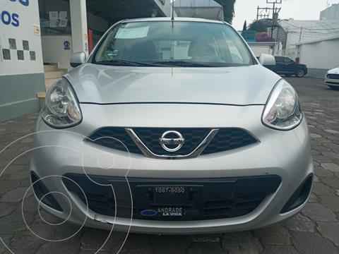 Nissan March Sense usado (2019) color Plata Dorado precio $160,000
