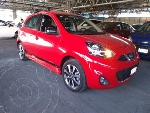 Nissan March SR usado (2020) color Rojo precio $230,000