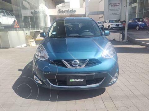 Nissan March Advance usado (2017) color Azul precio $149,000