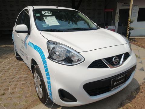 Nissan March Sense usado (2020) color Blanco precio $193,000