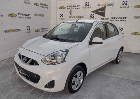 Nissan March Sense usado (2020) color Blanco precio $198,000