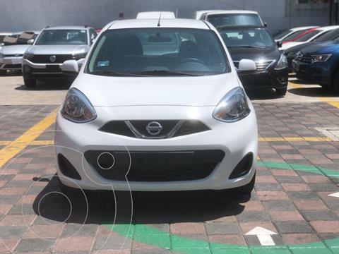 Nissan March Sense usado (2019) color Blanco precio $171,000