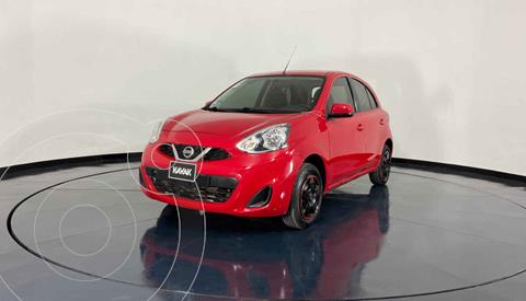 Nissan March Sense  Aut usado (2016) color Rojo precio $149,999