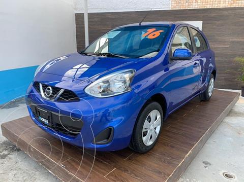 Nissan March Sense  Aut usado (2016) color Azul precio $129,900
