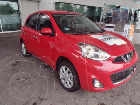 Nissan March Advance usado (2020) color Rojo precio $239,900