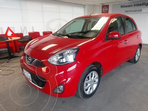 Nissan March Advance usado (2017) color Rojo precio $145,000