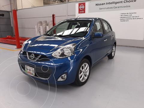 Nissan March Advance usado (2016) color Turquesa precio $169,000