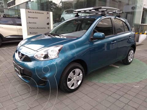 Nissan March Sense usado (2019) color Azul precio $169,000