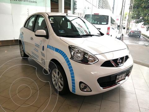 Nissan March Advance usado (2020) color Blanco precio $216,000