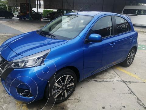 Nissan March Exclusive usado (2021) color Azul Acero precio $284,000