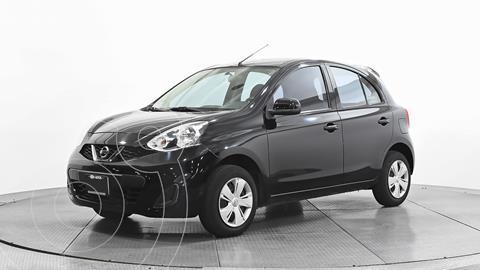 Nissan March Sense usado (2016) color Negro precio $117,810