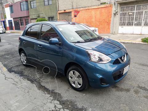 Nissan March Sense Aut usado (2018) color Azul precio $169,000
