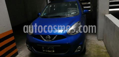 Nissan March Advance usado (2016) color Azul Electrico precio $138,000