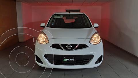 Nissan March Sense usado (2018) color Blanco precio $155,000