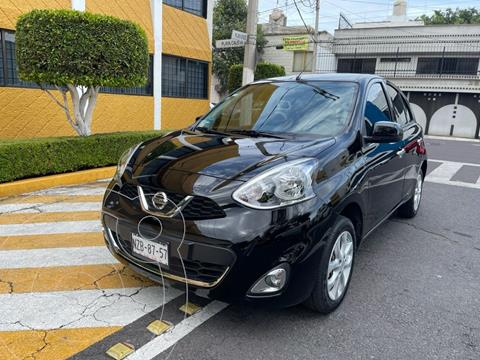 Nissan March Advance usado (2020) color Negro precio $209,900