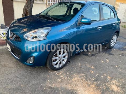 Nissan March Advance usado (2014) color Azul Electrico precio $115,000