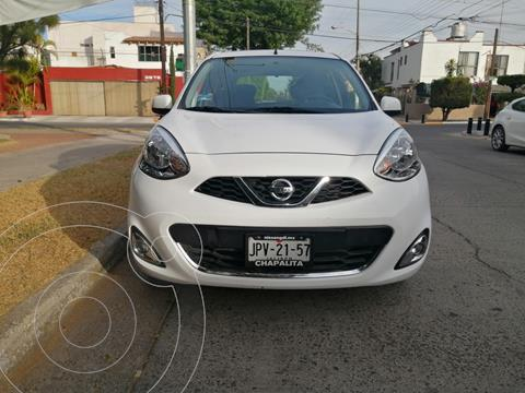 Nissan March Advance usado (2018) color Blanco precio $155,000