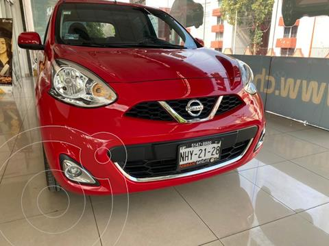 Nissan March Advance usado (2018) color Rojo precio $165,000