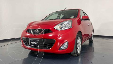 Nissan March Advance NAVI Aut usado (2014) color Rojo precio $129,999