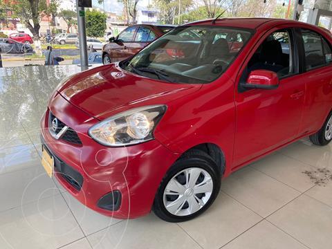 Nissan March Sense usado (2017) color Rojo precio $150,000