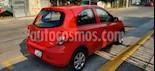 Nissan March Active Aire Ac usado (2016) color Rojo precio $110,000