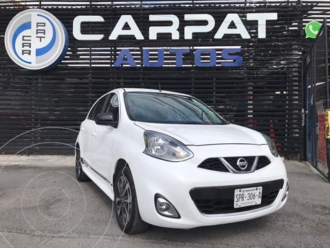 Nissan March SR NAVI usado (2017) color Blanco precio $159,000