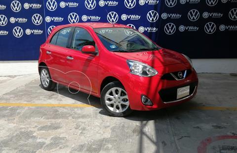 Nissan March Advance Aut usado (2018) color Rojo precio $178,000