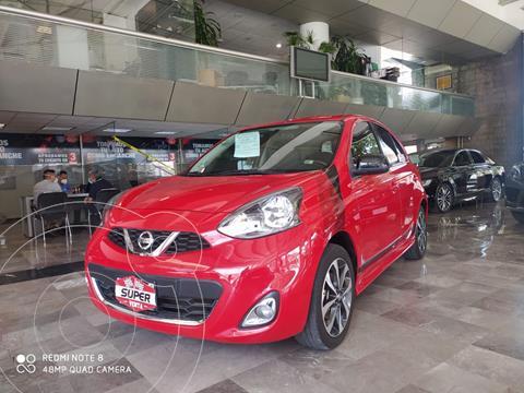 Nissan March SR NAVI usado (2018) color Rojo precio $172,000