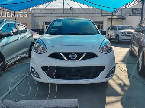 Nissan March Exclusive Aut usado (2020) color Blanco precio $240,000