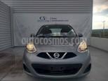 Foto venta Auto usado Nissan March Sense (2014) color Gris precio $115,000