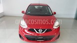 Foto venta Auto usado Nissan March Sense (2018) color Rojo precio $162,900
