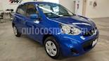 Foto venta Auto usado Nissan March Sense color Azul Electrico precio $159,000