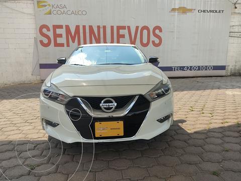 Nissan Maxima 3.5 SR  usado (2017) color Blanco precio $335,000