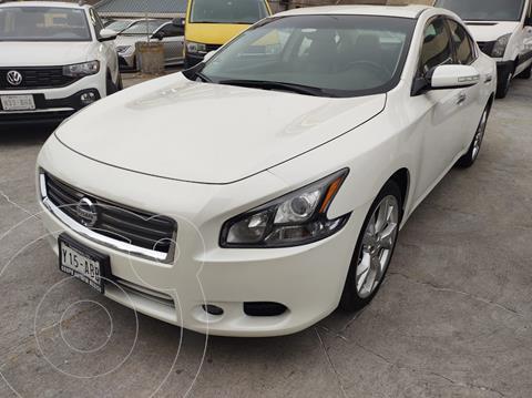 Nissan Maxima SR 3.5L V6 usado (2014) color Blanco precio $230,000